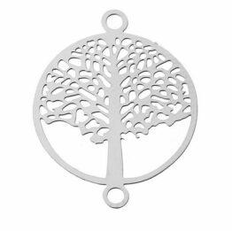 Nemesacél fa alakú összekötő elem
