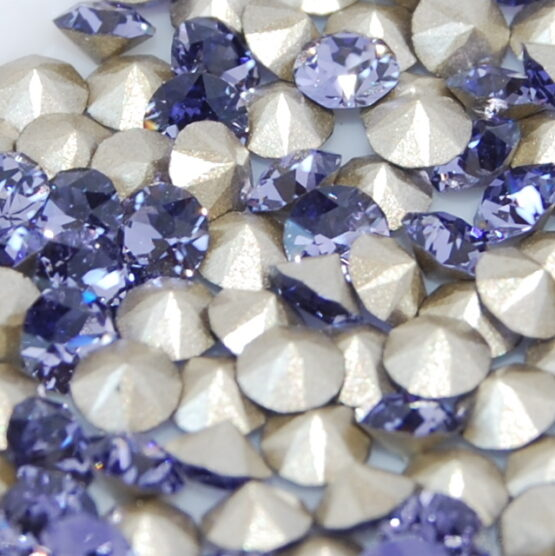 Swarovski kristály chaton Tanzanite