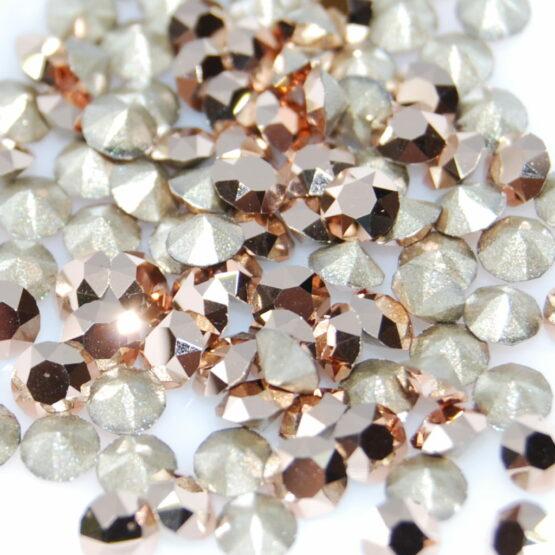 Rose Gold Swarovski kristály
