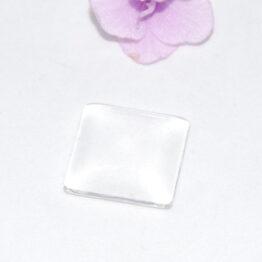 Üveg kaboson átlátszó négyzet