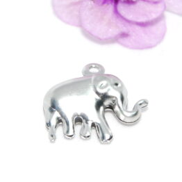 Stainless Steel Elephant Charm