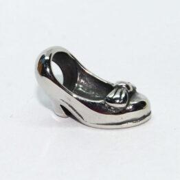 Nemesacél Pandora stílusú gyöngy magassarkú cipő
